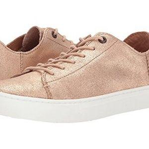 TOMS Lenox Rose Gold Sneakers